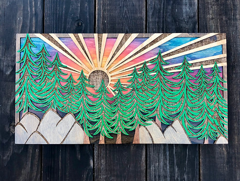 Forest View | 11.5 x 22in