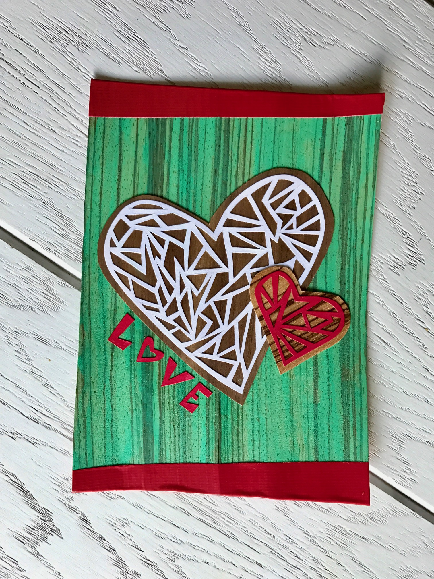 Papercut Greeting Card