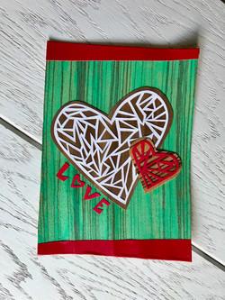 Papercut Greeting Card