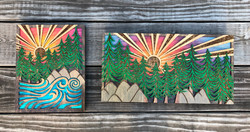 """""""Ocean Forest"""" and """"Forest View"""""""