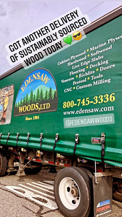 Made with sustainably harvested wood.