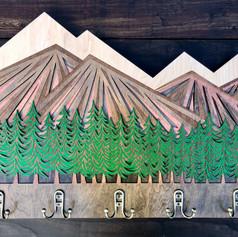 """Mountain Heart"" with treeline"