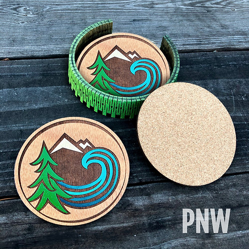 Painted Coasters (3 versions)