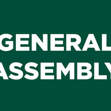 Aνακοίνωση Γενικής Συνέλευσης
