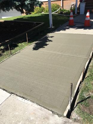 Residential Sidewalk Repair