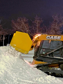 Parking Lot Snow Removal