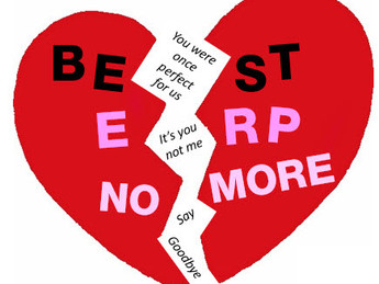 It's over. Your ERP no longer loves you.