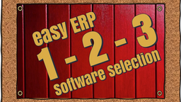 ERP is Easy as 1-2-3!