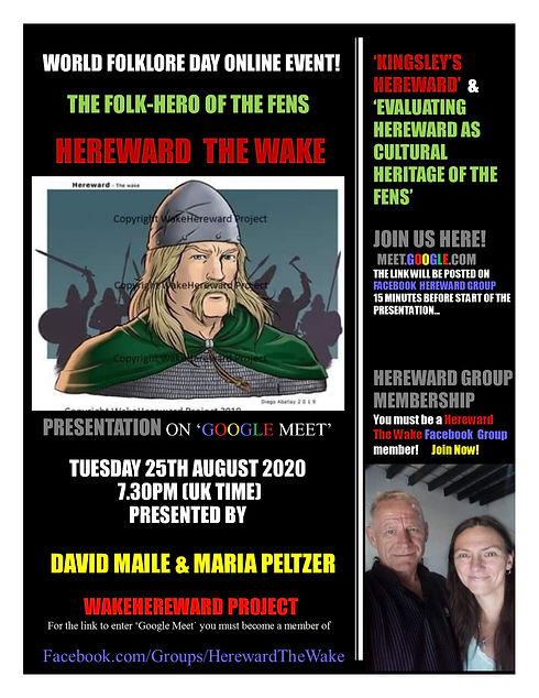 Hereward World Folklore Day Google Meet