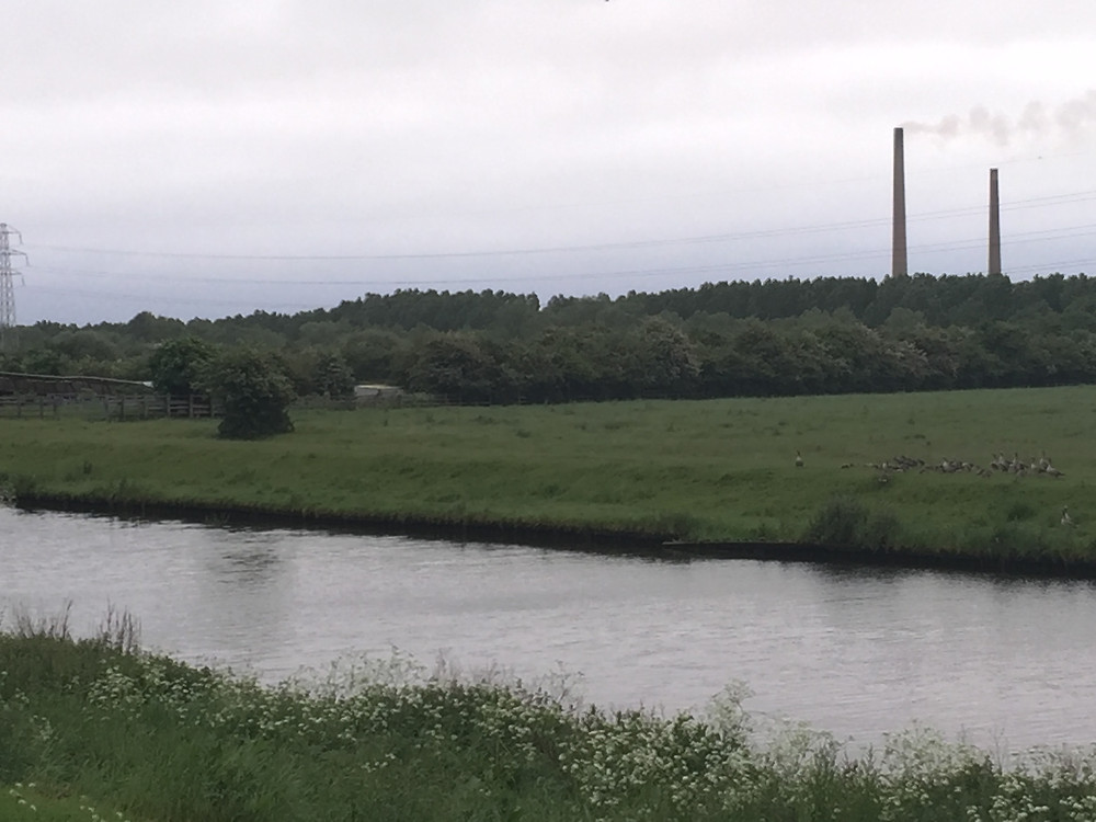 From the north bank of the nene heading east out of Peterborough the brickworks of Whittlesey stand proud and beckon...