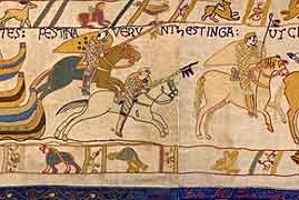 William the Conqueror lands at Pevensey - 28th Sept 1066