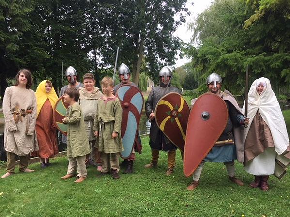 Bourne event Saxons.JPG