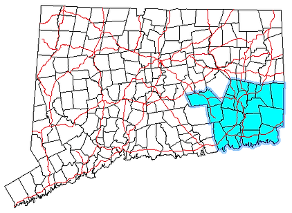 Southeastern CT Map
