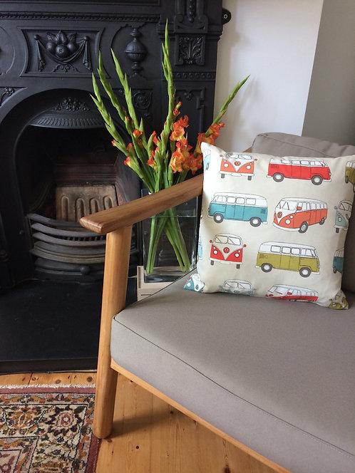 Vroom Vroom VW vans cushion