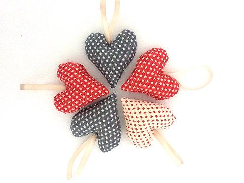 Hearts Galore (set of 5)