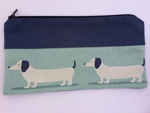 Daschund Dogs pencil case