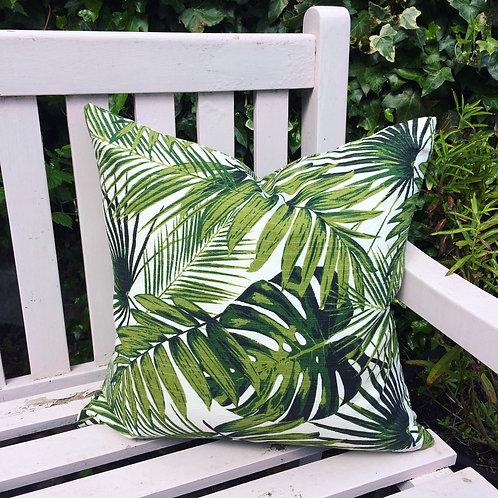 Tropical Greens cushion