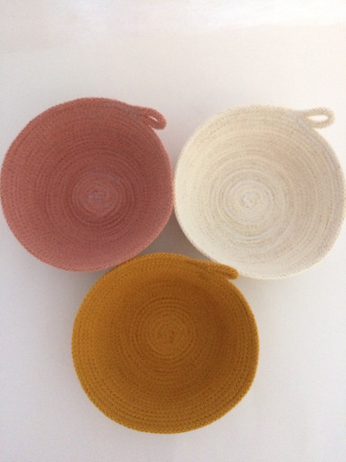 Recycled cotton Rope Bowl