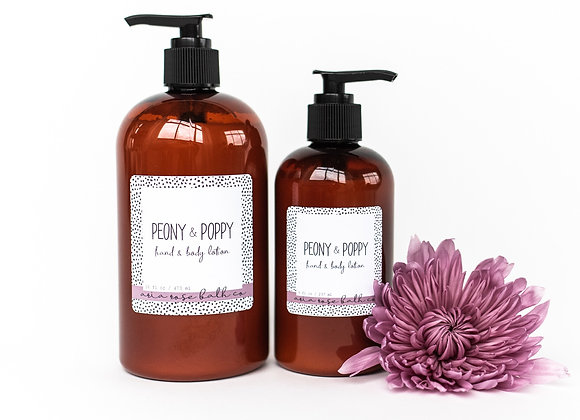 Peony and Poppy