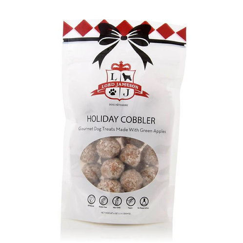 Holiday Cobbler Dog Treats
