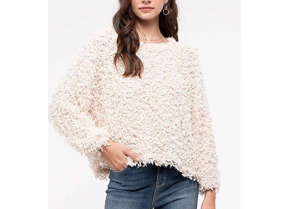 Popcorn Sweater Cream