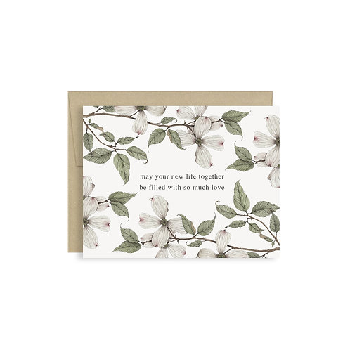 New life, New love Greeting Card