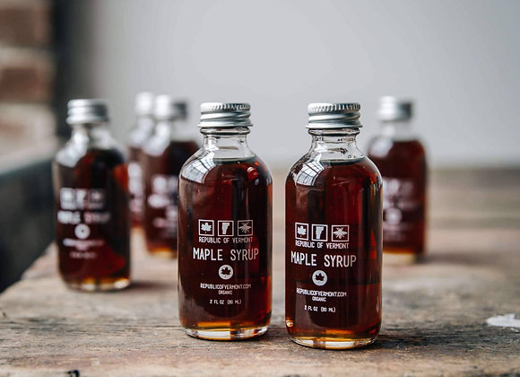 Certified Organic Maple Syrup - 2 oz