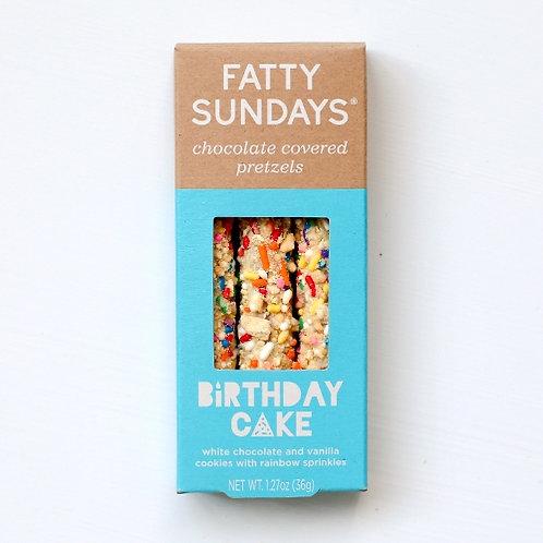 Birthday Cake Chocolate Covered Pretzels