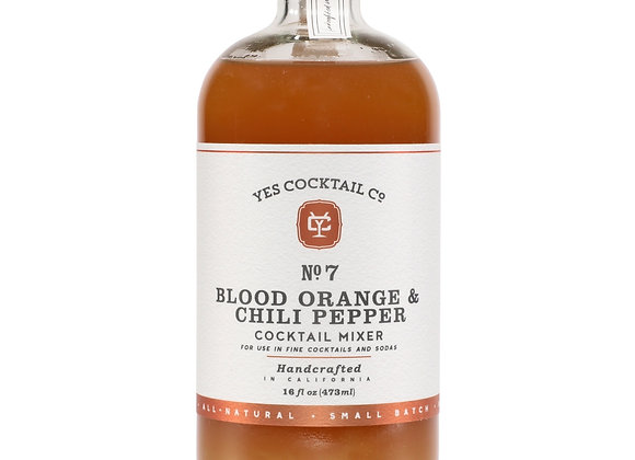 Blood Orange and Chili Pepper Cocktail Mixer