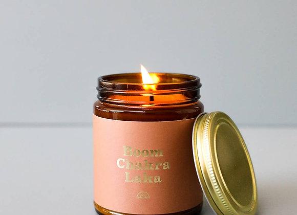 Boom Chakra Laka Mantra Candle