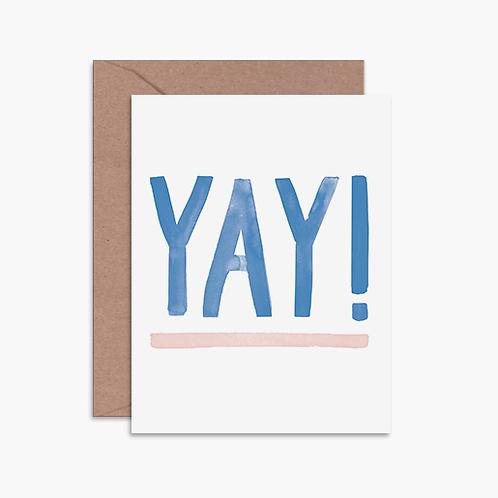 Yay! Greeting Card