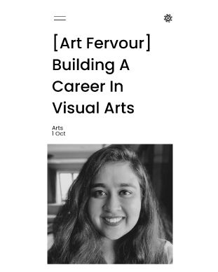 """""""You don't need to be a creative expert to pursue a career in the arts"""" – says our Founder, Nivedita Poddar. Catch the full interview by Persian Wheel."""