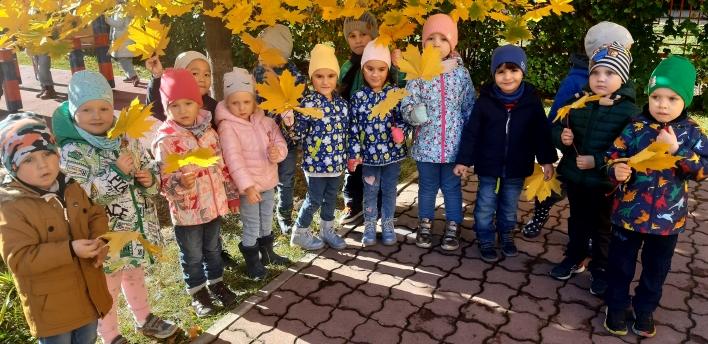 занятия с детьми на прогулке