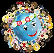 Для папы, открытка планета детства