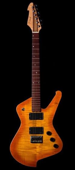 Roberts Custom Orange Sunburst