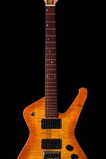 Custom Orange Sunburst