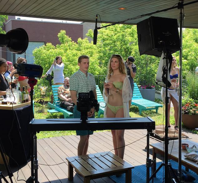 "Behind the Scenes ""Rooftop Party"""
