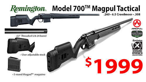 Model 700 Magpul Tactical Rifle
