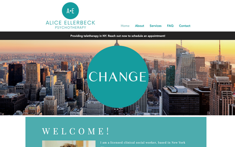 Alice Ellerbeck Psychotherapy