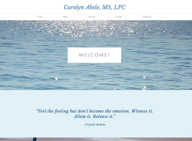 Carolyn Abele, MS, LPC