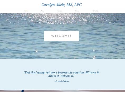 Carolyn Abele, MS, LPC