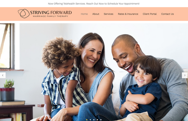 Striving Forward Marriage Family Therapy