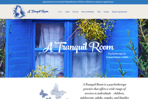 A Tranquil Room by Tamara Payne