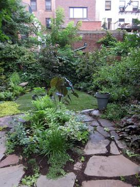Brooklyn Heights Brownstone Garden