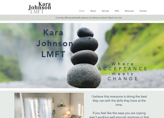 Kara Johnson LMFT