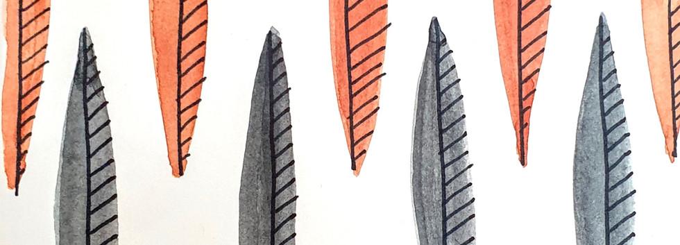 Blades silver