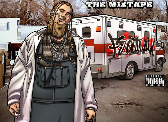 """Lyrical Narcan"" The Mixtape- Hardcopy CD"