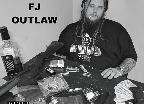 """""""Life Of The Outlaw"""" - Hardcopy CD"""