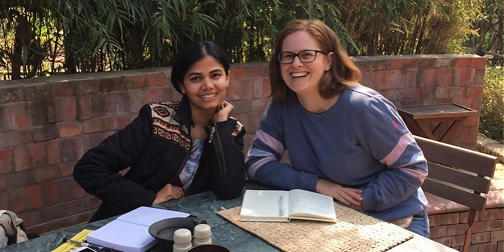 FB LIVE with LUCY BUNCE & NASREEN
