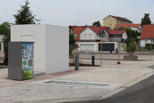 Tömningsstation Ställplats